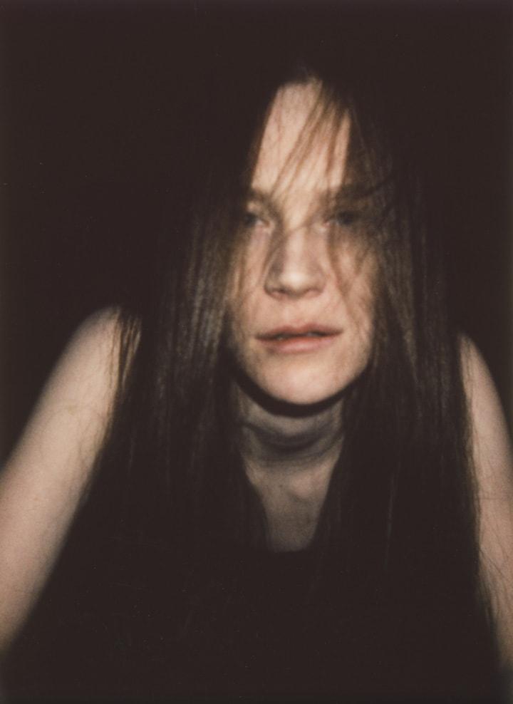 Portrait of Swedish actress Electra Hallman
